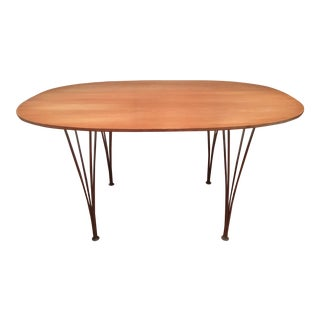 1960s Mid-Century Modern Piet Hein for Fritz Hansen Elliptical Dining Table For Sale