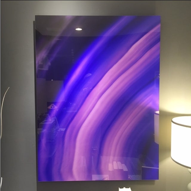 Purple Gemstone on Lex Diptych - Image 2 of 4