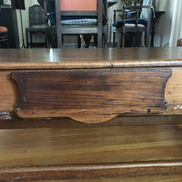 Antique French Henry II Style Walnut Low Boy Coffee Table For Sale - Image 10 of 13
