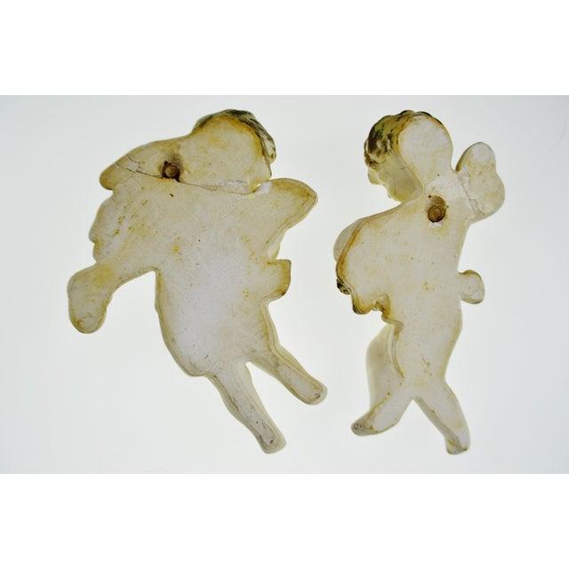 Vintage Ceramic Cherub Lavabo Wall Fountain Wall Pocket - Image 10 of 10