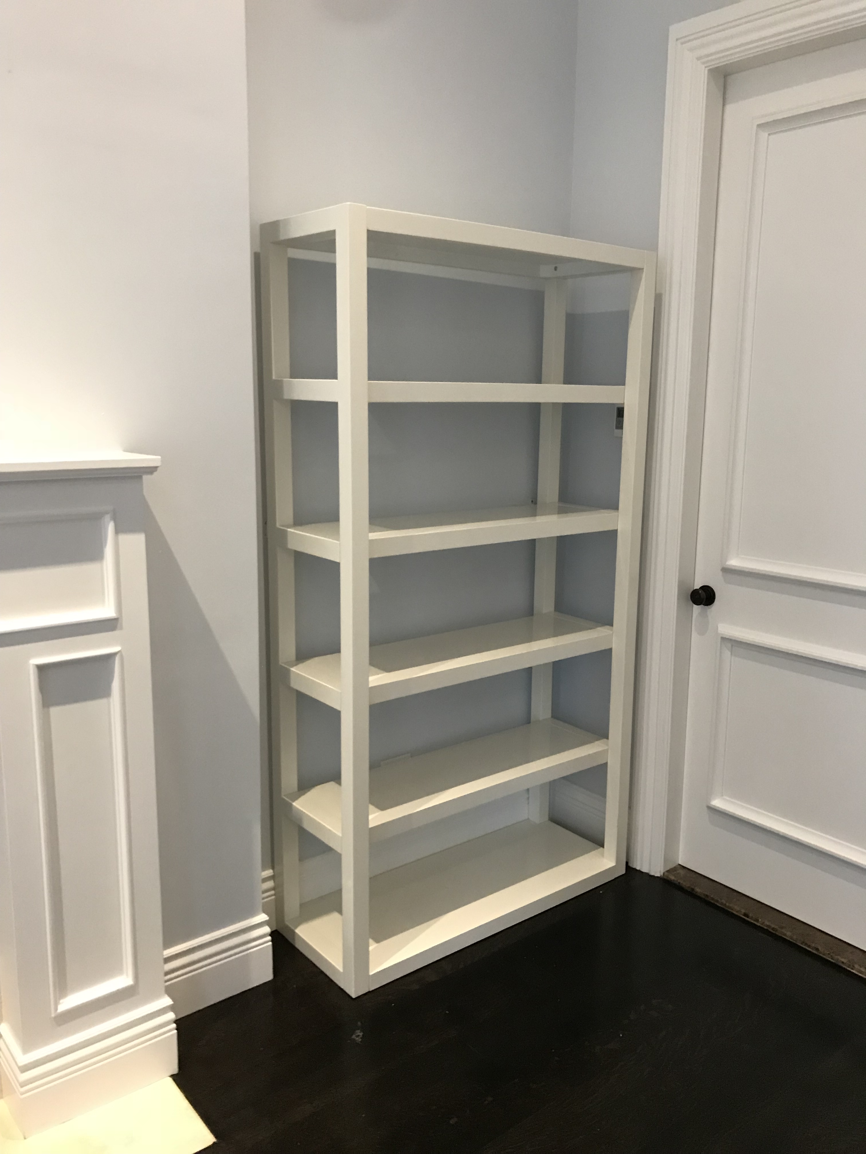 Large Bookcase From West Elm. Basic White Finish Makes This Bookcase Fit  Perfectly In Any