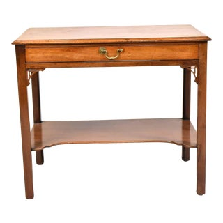 George III Mahogany Dressing Table For Sale