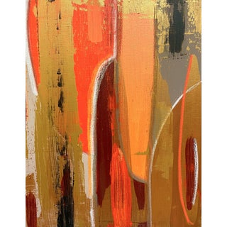 Contemporary Abstract Mixed-Media Painting by Bryan Boomershine For Sale