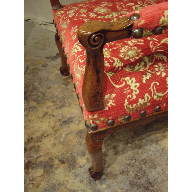 Mid 18th Century French Provincial Regence Armchairs - a Pair For Sale - Image 5 of 7