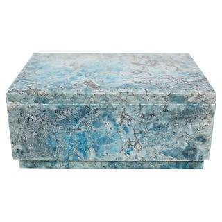 Mid-Century Italian Alabaster Box For Sale