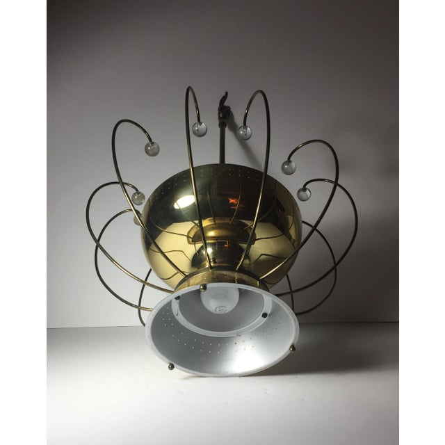 Lightolier Lightolier Chandelier Ceiling Fixture Lamp For Sale - Image 4 of 10