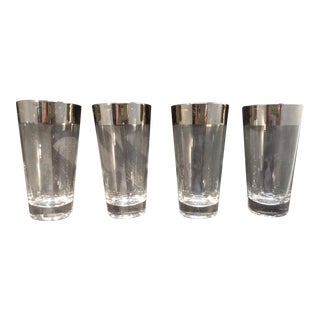 Dorothy Thorpe Iconic Silver Band Design Tumblers - Set of 4