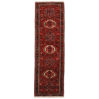 Vintage Persian Karajeh Runner- 2′2″ × 6′10″ For Sale