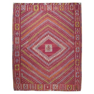 """Honeycomb"" Sharkisla Kilim For Sale"