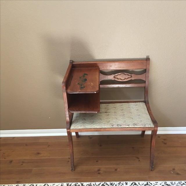 Antique Gossip Table - Image 2 of 9