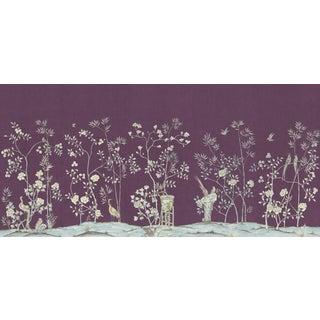"Casa Cosima Amethyst Brighton Wallpaper Mural - 5 Panels 180"" W X 96"" H For Sale"