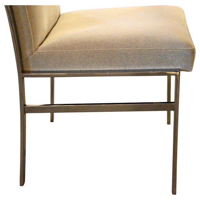 S/6 Mid Century Modern Chrome and Upholstery Pierre Cardin Dining Chairs / Side Chairs - Image 7 of 12