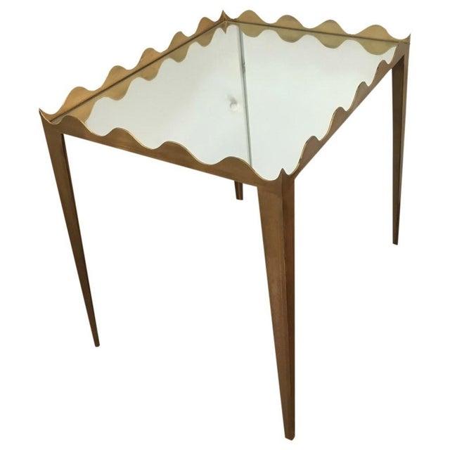 Hollywood Regency Rivers Spencer Margo End Table For Sale - Image 3 of 3