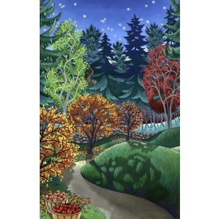 """""""Gathering"""" Contemporary Landscape Giclee Reproduction by Wynn Yarrow For Sale"""