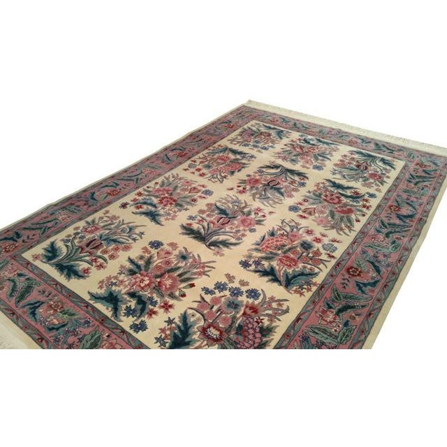 Traditional Traditional Handmade Knotted Rug - 6x9 For Sale - Image 3 of 4