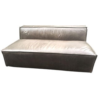 Modern Nathan Furniture Boxx Sofa For Sale
