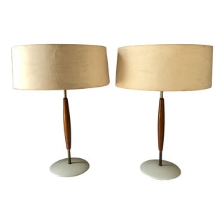 Gerald Thurston Lightolier Table Lamps- a Pair For Sale