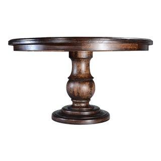 BARCELONA Dining Table Round Pedestal Base For Sale