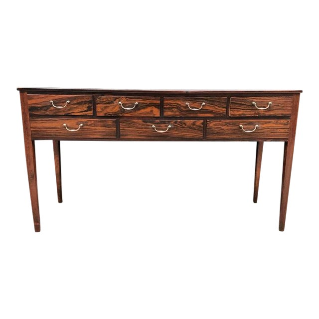 Early Ole Wanscher Rosewood Server Table Danish A. J. Iversen - Image 1 of 8