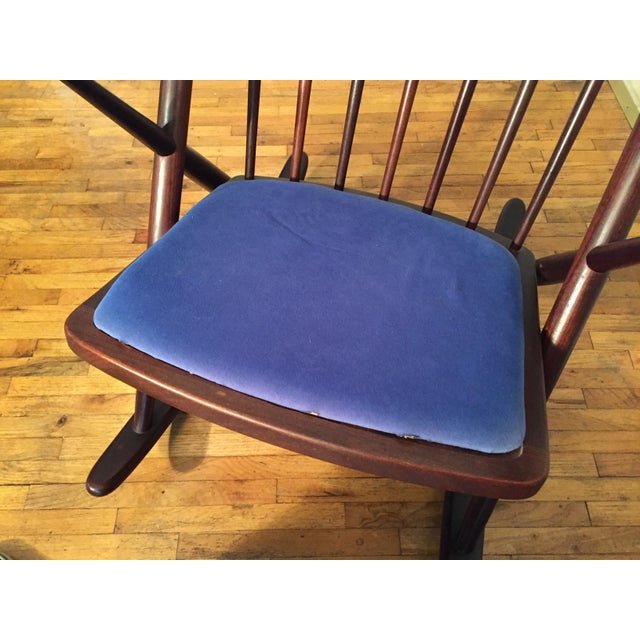 Bramin Mobler Frank Reenskaug Rocking Chair - Image 6 of 11