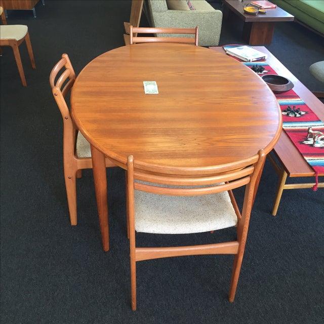 Danish Teak Dining Table - Image 9 of 9