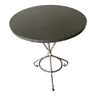 Antique Chippy Base Table For Sale