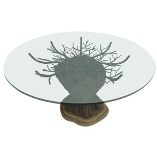 Brutalist Tree Center Table For Sale