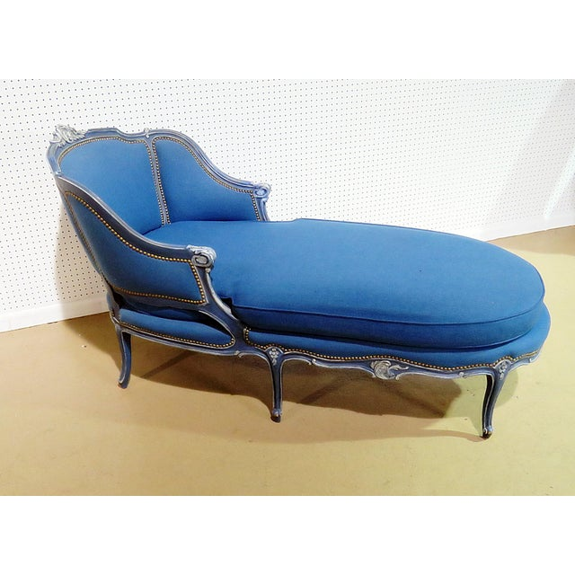 Louis XV Style Chaise Lounge - Image 8 of 8