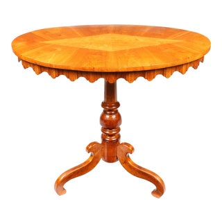 1840s Swedish Sheraton Candle Stand For Sale