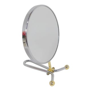 Vintage Magnified Vanity Mirror For Sale