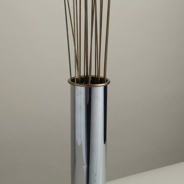 A Curtis Jere designed Wheatsheaf Light Sculpture created by the Portable Light Company USA 1970s