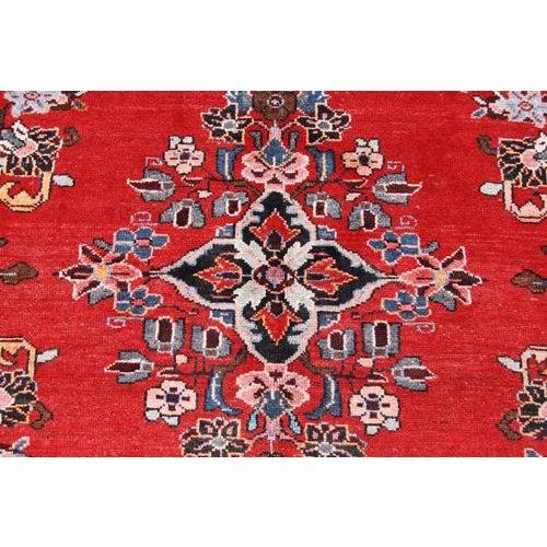 Handmade Persian Lilian Rug - 5″ × 7″ - Image 3 of 5