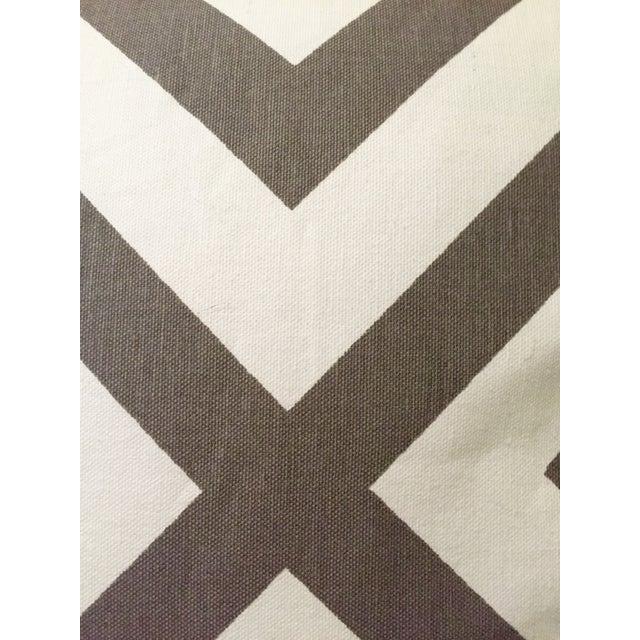Gray & White Geometric Pillows - Set of 4 - Image 8 of 11