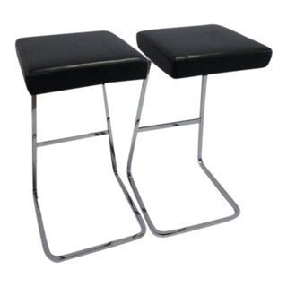Knoll Studio Four Seasons Bar Stools - A Pair