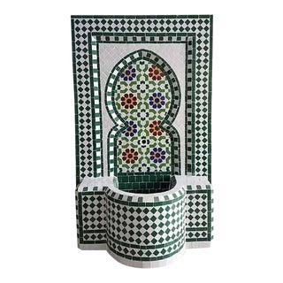 Riad Multicolor Moroccan Fountain For Sale