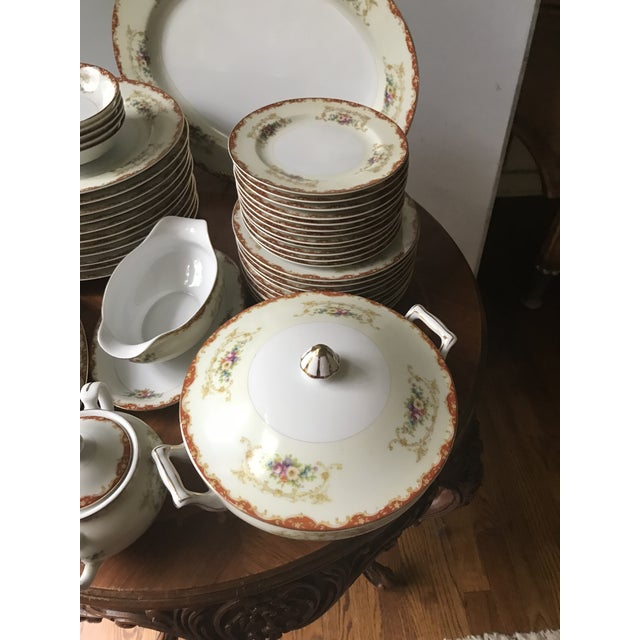 Late 19th Century Antique Rare Hinode (Noritake ), Year 1876 Hand Painted China/48 Pieces, Dinnerware. Final Reduction For Sale - Image 5 of 13