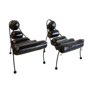 Post Modern Chairs by Alexander Tasou for Hi Tek Designs London For Sale