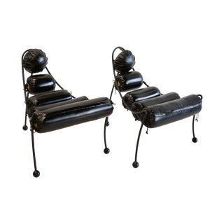 Post Modern Chairs by Alexander Tasou for Hi Tek Designs London For Sale