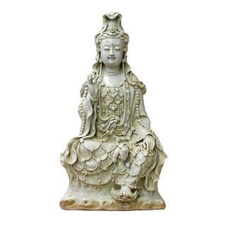 Chinese Tong Style Kwan Yin Tara Bodhisattva Statue