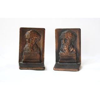 Charles Dickens Vintage Bookends - A Pair Preview