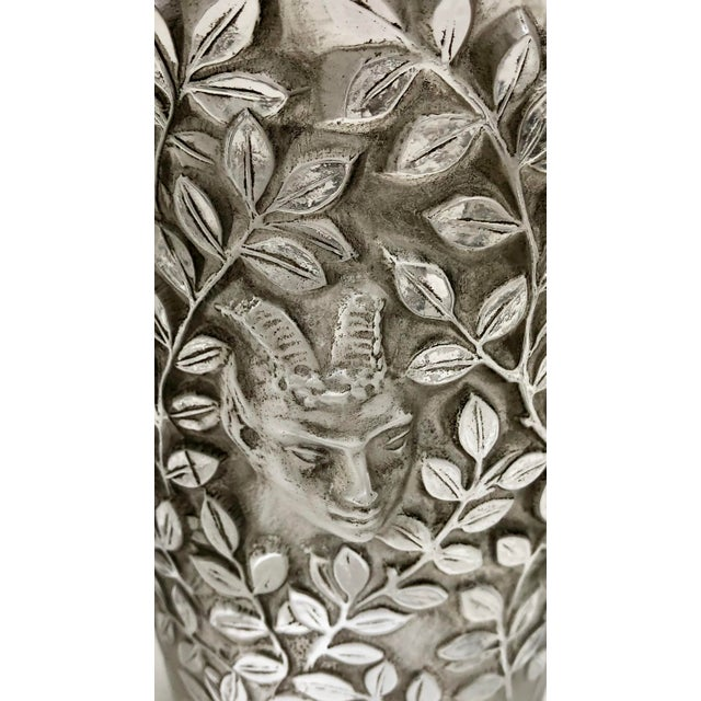 "1930s Vintage R. Lalique ""Silenes"" Vase For Sale In San Francisco - Image 6 of 13"