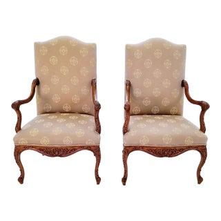 Fremarc Fauteil Chairs- A Pair For Sale