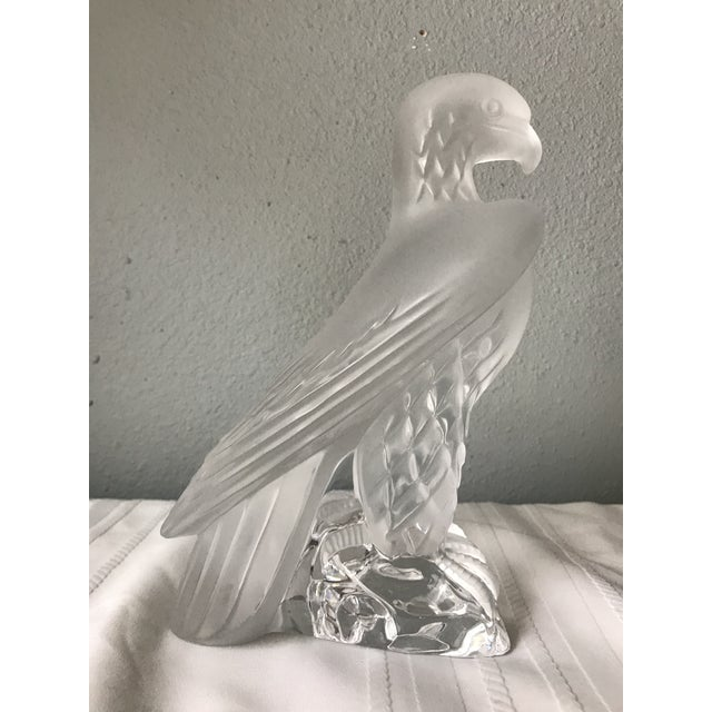 1980s 1980s Vintage Standing Lalique Liberty Eagle For Sale - Image 5 of 12