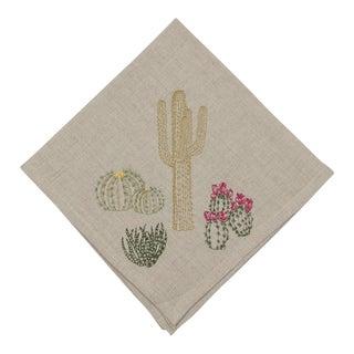 Cacti Field Dinner Napkin