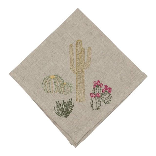 Cacti Field Dinner Napkin - Image 1 of 8