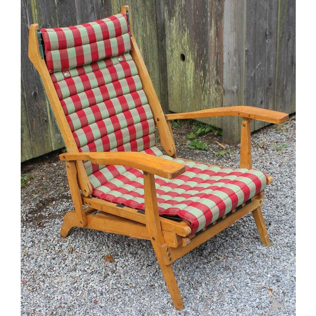 1950s Italian Chaise Lounge For Sale - Image 5 of 8