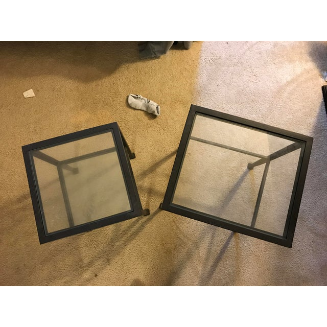 Pottery Barn Tanner Nesting Side Tables - A Pair - Image 6 of 6