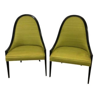Harvey Probber Gondola Chairs - a Pair For Sale