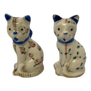 Vintage Japan Cat Salt & Pepper Shakers- a Pair For Sale