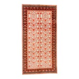 Image of 1920s Antique Khotan Art Deco Hand Knotted Rug For Sale